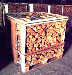 1m3 Crate - Wood Logs