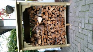 Logs in Log Storage Cabin