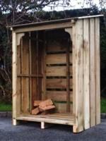 ... Martin Log Storage Cabin