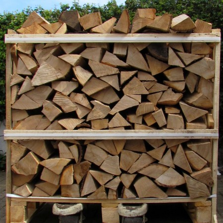Crate Kiln-dried logs
