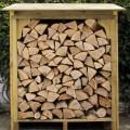 Log Storage Cabin