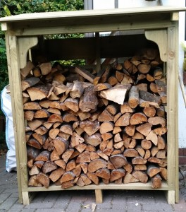 Logs  -  in Log Storage cabin
