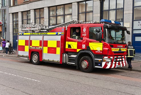Dublin Fire Engine